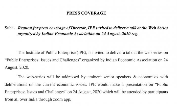Indian Economic Association